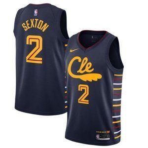 Men's Cleveland Cavaliers Collin Sexton Jersey0